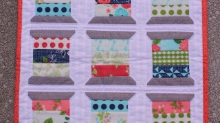 Mini quilt patchwork