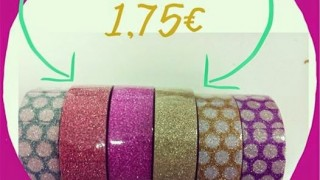 Nous washi Tape a 1,75€