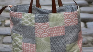 Bolso Mix patchwork i Kraft-.tex